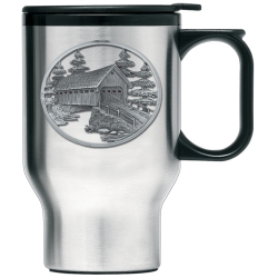 Covered Bridge Thermal Travel Mug