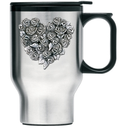 Rose Thermal Travel Mug