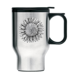 Sunflower Thermal Travel Mug