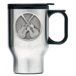 Guitar Thermal Travel Mug