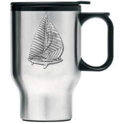 Sail Boat Thermal Travel Mug