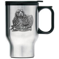Cocker Spaniel Thermal Travel Mug