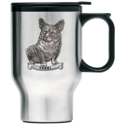 Corgi Thermal Travel Mug