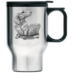 Dachshund Thermal Travel Mug