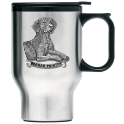 German Pointer Thermal Travel Mug