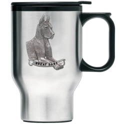 Great Dane Thermal Travel Mug
