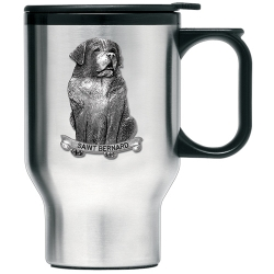 Saint Bernard Thermal Travel Mug
