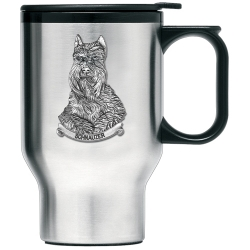 Schnauzer Thermal Travel Mug