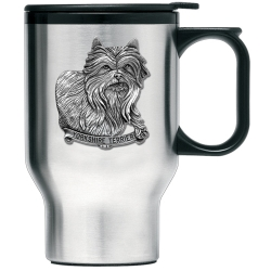 Yorkshire Terrier Thermal Travel Mug