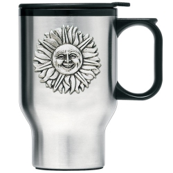 Sunface Thermal Travel Mug