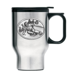 Skier Thermal Travel Mug
