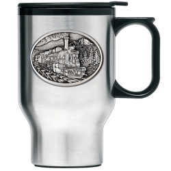 Train Thermal Travel Mug