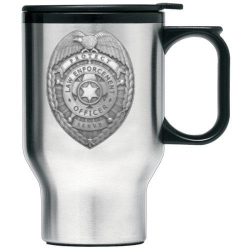 Law Enforcement Thermal Travel Mug