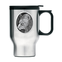 Black Bear Thermal Travel Mug