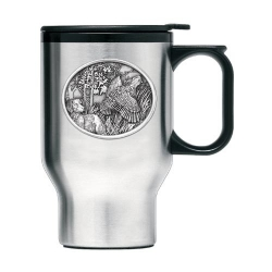 Bobwhite Quail Thermal Travel Mug