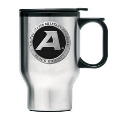 "Army ""Black Knight's"" Thermal Travel Mug - Enameled"