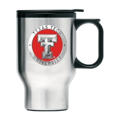 Texas Tech University Thermal Travel Mug - Enameled