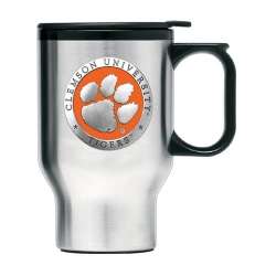 Clemson University Thermal Travel Mug - Enameled