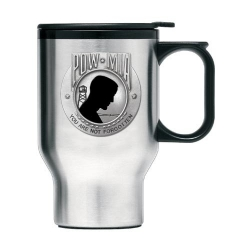 POW MIA Thermal Travel Mug - Enameled