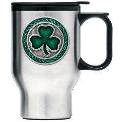 Clover Thermal Travel Mug - Enameled