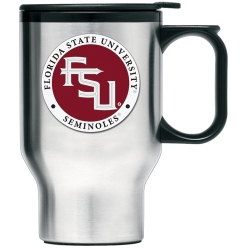 "Florida State University ""FSU"" Thermal Travel Mug - Enameled"