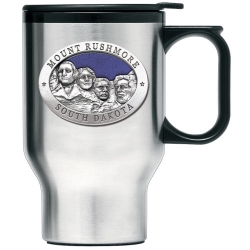 Mount Rushmore Thermal Travel Mug - Enameled