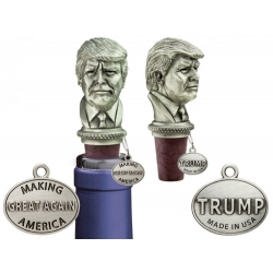 45th US President Donald Trump Bottle Stopper