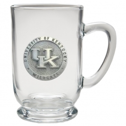University of Kentucky Clear Coffee Cup