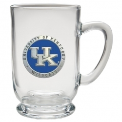 University of Kentucky Clear Coffee Cup - Enameled