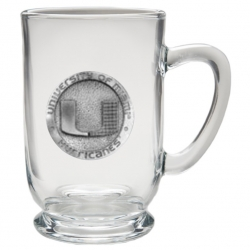 University of Miami Clear Coffee Cup