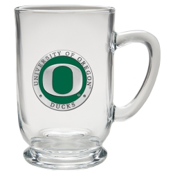 University of Oregon Clear Coffee Cup - Enameled