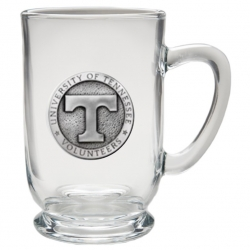 University of Tennessee Clear Coffee Cup
