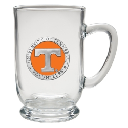 University of Tennessee Clear Coffee Cup - Enameled