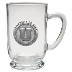 University of Utah Clear Coffee Cup