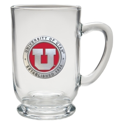 University of Utah Clear Coffee Cup - Enameled