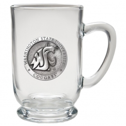 Washington State University Clear Coffee Cup