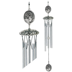 "Mule Deer 24"" Wind Chime"