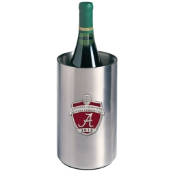 2015 CFP National Champions Alabama Crimson Tide Wine Chiller - Enameled