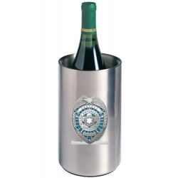 Law Enforcement Wine Chiller - Enameled