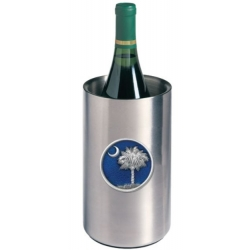 South Carolina Palmetto Wine Chiller - Enameled