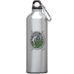 "Golf ""Putter"" Water Bottle - Enameled"