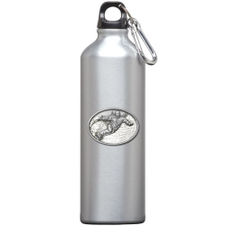 Snowboarder Water Bottle - Enameled