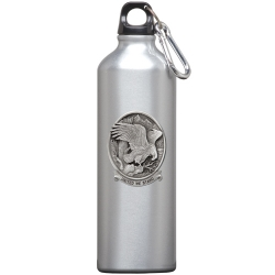 "Bald Eagle ""United We Stand"" Water Bottle"