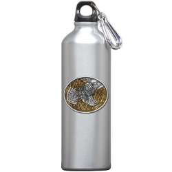 Ruffed Grouse Water Bottle - Enameled