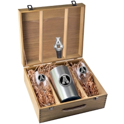 Appalachian State University Wine Set w/ Box - Enameled