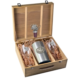 Buffalo Wine Set w/ Box