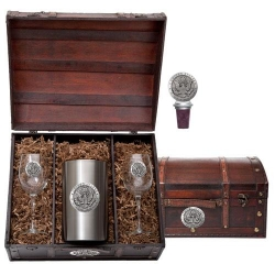 Army Wine Set w/ Chest